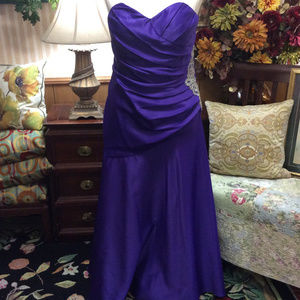 Masquerade Royal Purple Evening Ball Gown XL